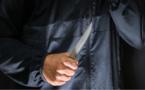 La victime a été transportée à l'hôpital avec une plaie provoquée par un couteau - Illustration