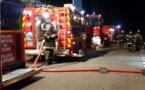 42 sapeurs-pompiers ont été engagés au plus fort de l'intervention - illustration