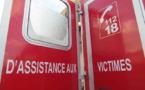 Blessé au bras et à la jambe gauches, le motard a été transporté à l'hôpital des Feugrais - Illustration © Adobe Stock