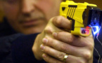L'homme a été neutralisé au moyen d'un pistolet à impulsion électrique - illustration