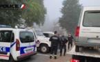 Au Houlme, le conducteur d'un Renault Express a été contrôlé positif aux stupéfiants. Son véhicule a été conduit en fourrière - Photo © DDSP76