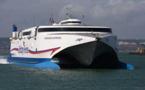 Le passager clandestin a été découvert à bord du ferry Normandy Express (illustration)