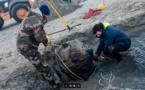 Normandie. Plusieurs opérations de déminage menées à bien par les plongeurs-démineurs