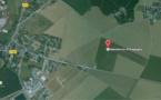 Eure : l'avion de tourisme finit sa course dans un champ en bout de piste. Les passagers indemnes