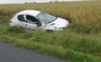 Écos (Eure) : la conductrice perd le contrôle de sa voiture en voulant éviter des lapins