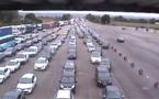 #InfoRoute. 420 km de bouchons dans le sens des départs ce samedi à 11 heures