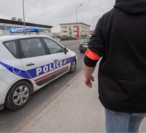 Le fuyard a été intercepté par les policiers à Orgeval - Illustration