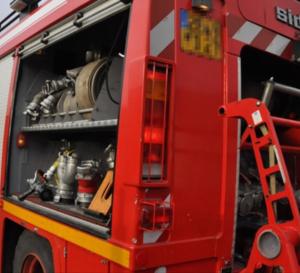 Les sapeurs-pompiers ont mis en batterie deux lances - illustration @ infonormandie