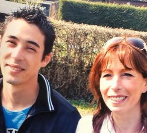 « Si mon fils ne veut plus vivre »: Fabienne Gauclin (ici avec Giani) a écrit ce livre poignant avec Serge Herbin.