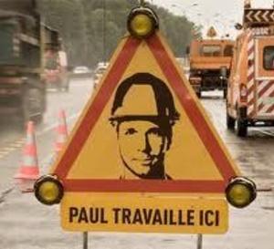 Chantiers routiers : opération de prévention contre les accidents dans l'Eure