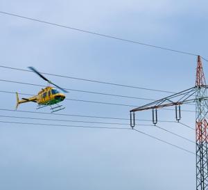 Eure : un corps découvert accroché au pylône  d'une ligne à haute tension à 30 m de haut