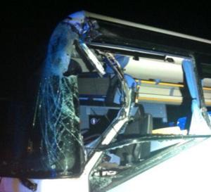 Collision entre un car scolaire et un tracteur près de Brionne : deux blessés, dont un enfant