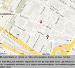 Agressions gratuites : deux passants roués de coups dans le centre-ville de Rouen