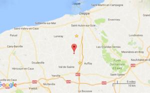 Plus d'un millier de ballots de paille partis en fumée cette nuit à Saint-Mards (Seine-Maritime)