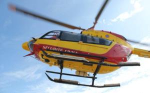 Seine-Maritime : un pêcheur à pied en difficulté récupéré sain et sauf par l'hélicoptère de la sécurité civile