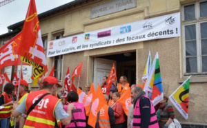Évreux : 8 syndicats manifesteront le 9 novembre pour s'opposer à la casse de la Bourse du travail