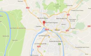 Rouen : l'A 150 paralysée à cause d'un accident avec un semi-remorque cet après-midi