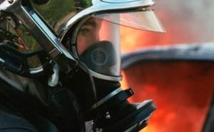 Déville-lès-Rouen : un locataire légèrement incommodé par un feu de détritus