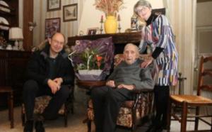 Roger Clarisse, doyen de Mantes-la-Jolie, vient de décéder à 108 ans