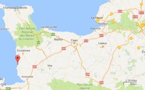 Manche : 13 personnes cernées par la marée montante sont secourues à Saint-Martin-de-Bréhal