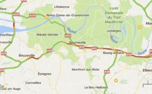 Accident sur l'A13 : l'autoroute coupée et déviée avant Bosgouet, dans l'Eure