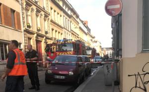 Rouen : début d'incendie dans un immeuble du quartier de la préfecture, pas de victime