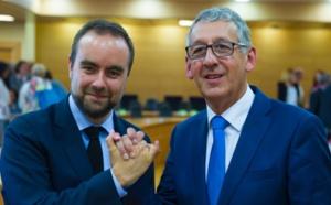 Pascal Lehongre s'installe dans le fauteuil de Sébastien Lecornu à la Présidence de l'Eure