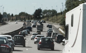 #InfoRoute. Bouchon de plus de 3 km sur l'A132 en direction de Deauville