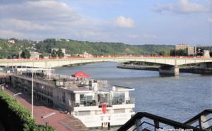 Rouen : le cadavre d'un homme flottant dans la Seine, découvert près du pont Jeanne d'Arc
