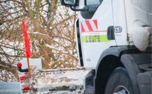 Dans l'Eure, les saleuses et engins de déneigement sont prêts à intervenir (Photo @ Département de L'Eure)