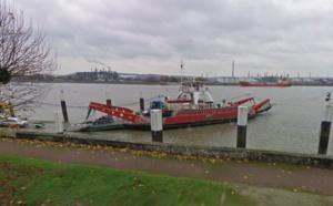 Eure : deux passagers du bac de Quillebeuf-sur-Seine sauvés de la noyade