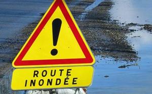 Seine-Maritime : les pompiers interviennent pour des maisons et routes inondées