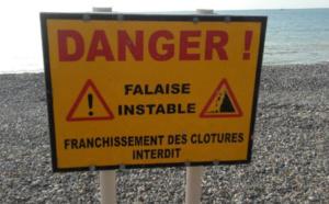 Seine-Maritime : au Tréport, la falaise s'effondre sur la plage sans faire de blessé
