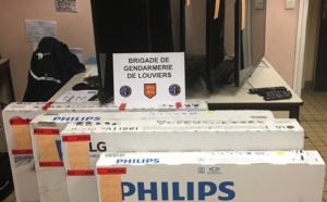 Eure : les voleurs de la palette de téléviseurs étaient deux employés de l'entreprise de transport