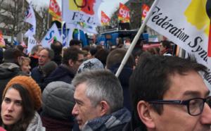 Défense de la fonction publique : autour de 10 000 manifestants en Seine-Maritime