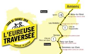Dans l'Eure, le Tour de France vous attend sur son passage