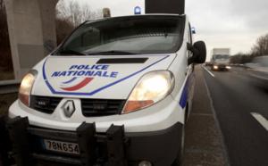 La Citroën a été interceptée sur l'autoroute - Illustration