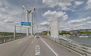 Travaux de maintenance sur le Pont Flaubert à Rouen : la RN1338 fermée le 19 septembre