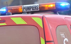 Les pompiers sont intervenus pour éviter toute dispersion du produit et maîtriser les conséquences de l'incident -Illustration © infonormandie