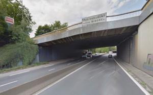La Citroën circulait à contresens l- illustration @ Google Maps