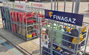 Yvelines : 17 bonbonnes de gaz volées dans l'enceinte du centre commercial Auchan à Buchelay