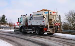 Neige et verglas : circulation difficile ce soir dans l'Eure où des opérations de salage sont en cours