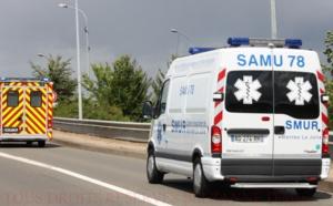Un motard grièvement blessé dans un accident ce matin sur la RN13 à Saint-Germain-en-Laye