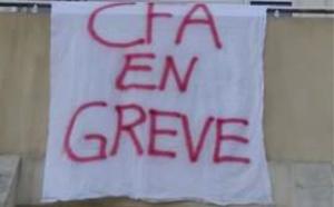 Des formateurs du CFA de la Châtaigneraie au Mesnil-Esnard en grève faute de moyens pédagogiques