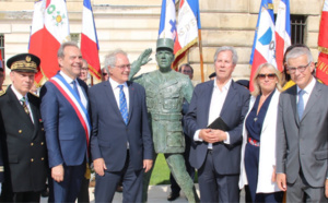 Évreux : la statue du Général de Gaulle arrachée en marge de la victoire de l'Algérie