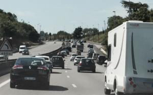 #InfoRoute. Samedi classé rouge : le pic de bouchons (745 km) atteint vers 12 heures