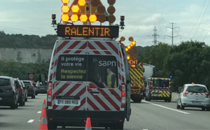 Manifestation, accident, travaux ... : circulation perturbée sur l'A13 entre Caen et Paris