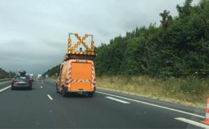 Rénovation des chaussées de l'A13 entre Gaillon et Louviers : les travaux débutent lundi