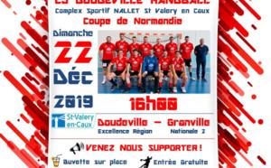 Doudeville affrontera Granville en coupe de Normandie de handball, à Saint-Valery-en-Caux.