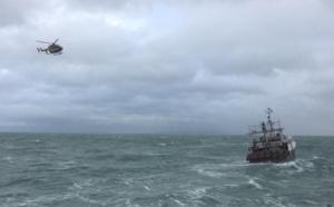 Les recherches ont été levées à 12h55 par le préfet maritime - Illustration @ Prémar/Twitter